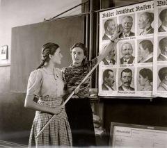 En lærerassistent ved et opplæringsenter i Nürtingen.
