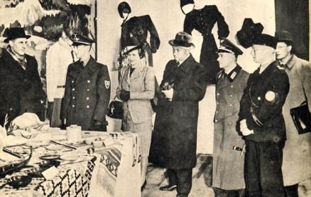 Ved høstmessen i Königsberg 1941 ble den norske avdeling åpnet av minister Lunde.