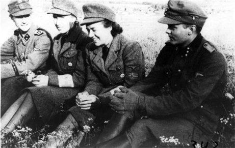 Norske frontkjempere og frontsøstre.