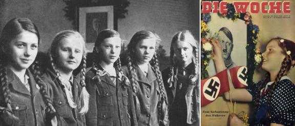 Geburtstag des Führers erschien die Illustrierte Die Woche im April 1938