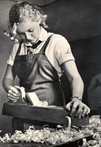 Die Handwerkerin.