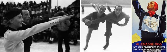 Det populæret skøyteparret Maxi Herber og Ernst Baier vant gull medalje i Garmisch-Partenkirchen.