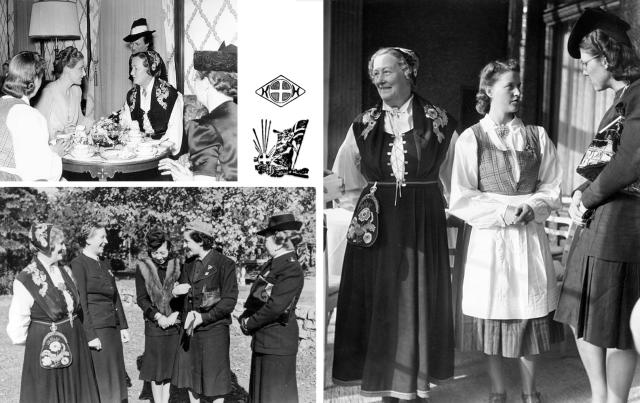 De norske kvinnene fikk rn utmerket mottagelse under Internationales frauentreffen som ble holdt i Berlin fra den 7 til den 11 oktober 1941.