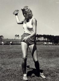 En idrettstudine i Berlin 1941.