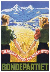 Bondepartiet_plakat_1939