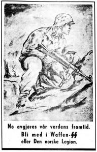 verveplakat Adresseavisen 1942.08.04
