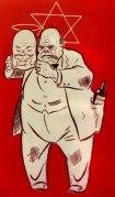 Winston Churchills sanne ansikt.