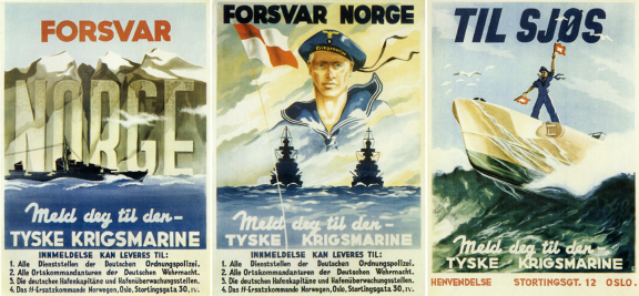 – Og nå er det vår tur til å forsvare Norges livsrom til sjøs!