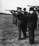 Psykopatene Eisenhower og Churchill.