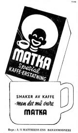 matka kaffeerstatning 1941