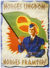 nazimarsj_Norges ungdom Norges framtid!