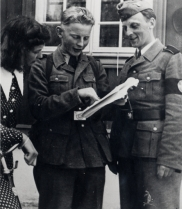 rekruttskolen på Elverum folkehøyskole juni 1941