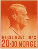 Rikstinget-1942_frimerke